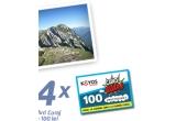 3 x excursie cu Horia Colibasanu in masivul Piatra Craiului, 4 x Card Curaj valoare 100 RON
