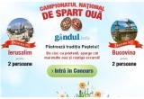 1 x excursie in 2 in Bucovina, 1 x excursie in 2 la Ierusalim