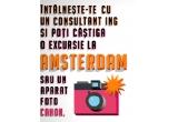 1 x excursie cu familia sau prietenii la Amsterdam, 64 x aparat foto digital Canon PowerShot A3200 IS