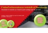 600 x bax ulei Unisol, 6 x sedinta de gatit cu bucatarul Unisol + cumparaturi in valoare de 1.000 RON, 1 x bucatarie complet mobilata