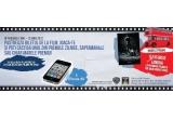 "21 x colectie de filme pe DVD, 21 x un Blu-ray Player Samsung BDE5300, 5 x iPhone 4S 16GB, 1 x excursie la Londra la premiera filmului ""The Dark Knight Rises"" + bani de cheltuiala + 2 bilete la premiera oficiala a filmului"