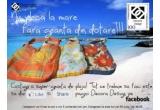 3 x geanta de plaja unice din colectia Decora Sunshine