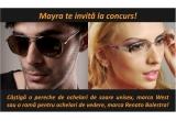 1 x ochelari de soare WEST, 1 x rama pentru ochelari de vedere Renato Balestra
