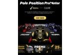 1 x excursie pentru doua persoane la Belgian Grand Prix + diurna, 25 x tricou original F1