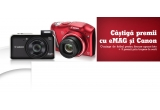 1 x Foto DSLR – 600D1855IS, 1 x Foto Bridge – SX40, 1 x Foto Compact – A2200+CP800, minge de fotbal instant