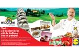 1 x masina de paine + ingrediente pentru ciabatta, 1 x voucher de cumparaturi in valoare de 200 lei de la Lidl, 1 x cina in stil italian pentru 2 persoane  impreuna cu bucatarul Antonio Passareli