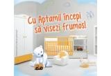1 x camera de vis pentru copilul tau (pictarea manuala a unui intreg perete unde se vor regasi personajele indragite ale copilului de catre artista Andreea Bunea), 10 x 2 cutii de lapte Aptamil, 50 x Aptamil pentru o luna