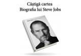 1 x Cartea Biografia lui Steve Jobs tradusa in limba romana