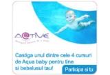 4 x curs de Aqua Bebe pentru tine si bebelusul tau