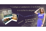 1 x rochie la alegere de pe site-ul Dailylook.ro, 1 x un weekend in doi la Roma