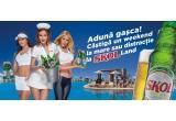 15 x weekend prelungit la Mamaia, 10 x voucher de 100 euro in SKOL LAND