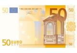 1 x 50 euro cash