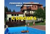 1 x sejur de 2 nopti pentru 2 persoane cu pensiune completa la Pensiunea Transilvania din Baile Tusnad