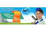 1 x un curs gratuit de Insotitor de Bord in valoare de 3.000 EURO
