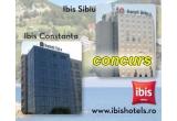 1 x sejur de 2 nopti pentru 2 persoane cu mic dejun la Hotel Ibis din Constanta