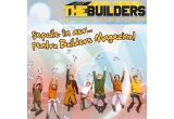 o șapca marca BuildersMagazine pe ora