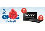 7 x Blu-Ray player Sony, 1 x Televizor LED Sony, 117 cm, Full HD