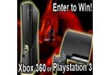 1 x o consola Xbox 360 (250 GB) sau o consola Playstation 3 (160 GB)