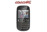 1 x Telefon mobil Nokia 200 Asha Dual SIM, Memorie USB Kingmax 4 GB pentru fiecare prieten taguit