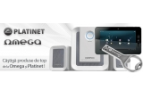 1 x Tableta Omega T107 Android 4.0, 2 x Boxe 2.1 Omega OG231W, 3 x Memorie stick Platinet USB 2.0 8GB PMFO8