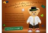 3 x un pachet complet din gama Coccolino Sensation, 3 x ursulet pufos Coccolino, 3 x set de 3 prosoape Coccolino