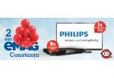 9 x DVD-Player Philips, 1 x Televizor LED Philips, 81 cm, FULL HD