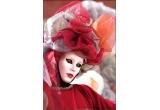 o fotografie inramata de la expozitia Maschere di Venezia<br type=&quot;_moz&quot; />