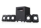 1 x sistem audio 5.1 SW-5.1 1020 + tastatura KB-06XE + mouse Traveler 9000 + mouse pad GX-Speed