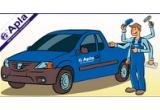154 x Sapca APLA, 44 x Patent Multifunctional APLA, 66 x Lanterna APLA, 2 x autoturism Dacia logan Pick-Up