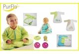 3 x Sac de dormit Purflo cu maneci detasabile, pentru varsta adecvata copilului (0-3 luni, 3-9 luni, 9-18 luni sau 18+)