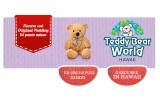 1000 x Ursulet de plus cu insigna, 1 x Excursie la Teddy Bear World Hawaii, SUA + 1000 ron