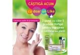 21 x 1 revista Tratamente naturiste, 2 x gama cu 5 produse naturale Hofigal pentru ingrijirea si catifelarea pielii