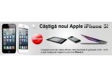 1 x iPhone 5, un cupon cadou in valoare de 200 RON ce poate fi folosit la achizitionarea accesorilor compatibile cu Apple iPhone 5