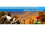 """3 x licenta STEAM pentru jocul """"Bunch of Heroes"""""""