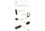 1 x telecomanda nJoy Presenter – Visual Aid 701, 1 x nJoy Headset – Hyster, 1 x nJoy Memory – nanoDisk 16GB, 1 x nJoy Keyboard – SMK210, 1 x nJoy Mouse – TR101