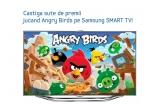 1 x televizor SMART TV, 1 x loc asigurat in marea finala europeana a concursului, care va avea loc la Londra, camere foto Samsung