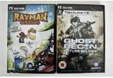 1 x 2 licente Tom Clancy's Ghost Recon Future Soldier + Rayman Origins, 1 x licenta Rayman Origins
