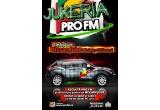 1 x autoturism Nissan Juke, 50 x tableta Pc, 200 x tricou ProFM