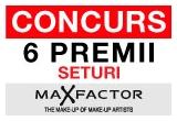 """6 x premiu constand in seturi """"MAX FACTOR"""""""