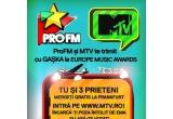 1 x 4 bilete de acces la Premiile Europe Music Awards de la Frankfurt + cazare si transport