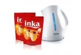 2 x un fierbator electric + doua pachete de 180 g de Inka, 6 x doua pachete de 180 g de Inka