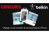 1 x un set de accesorii Belkin pentru iPhone