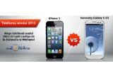 1 x iPhone 5 sau Samsung Galaxy S III