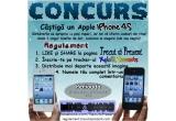 1 x un iPhone 4S (alb sau negru)