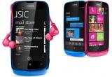7 x pachet format din telefon Nokia Lumia 610 + o pereche de casti Monster 930