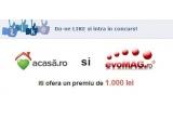 1 x un voucher in valoare de 1.000 de lei, oferit de www.evoMAG.ro