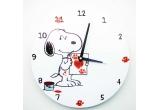 1 x ceas de perete cu Snoopy