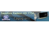 1 x o placa video Sapphire HD 7750 Low Profile