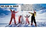 1 x SEJUR gratuit la SKI pentru 2 persoane in ianuarie