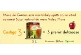 3 x cutie de 3 litri de suc natural de mere de la Valea Mare